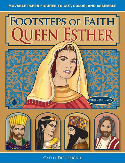 Articulated Paper Dolls of people from the Story of Esther - history crafts