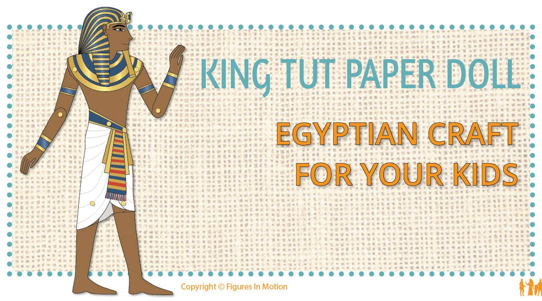 HOW TO MAKE A PAPER DOLL OF KING TUT
