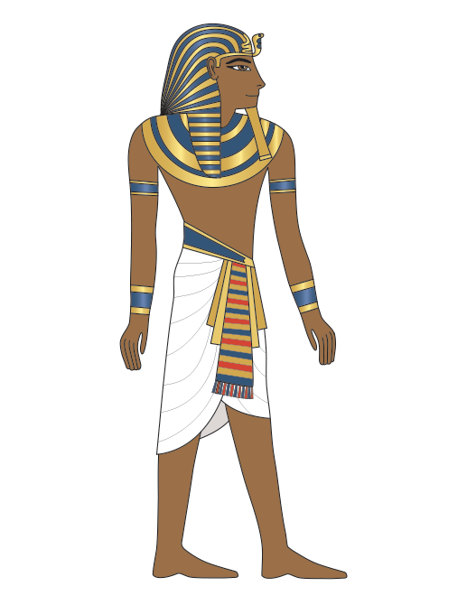 King Tut Articulated Paper Doll
