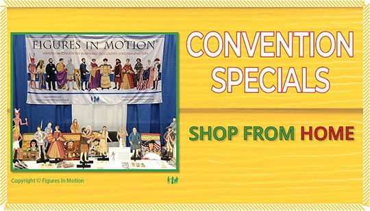 CONVENTION SPECIALS AT HOME
