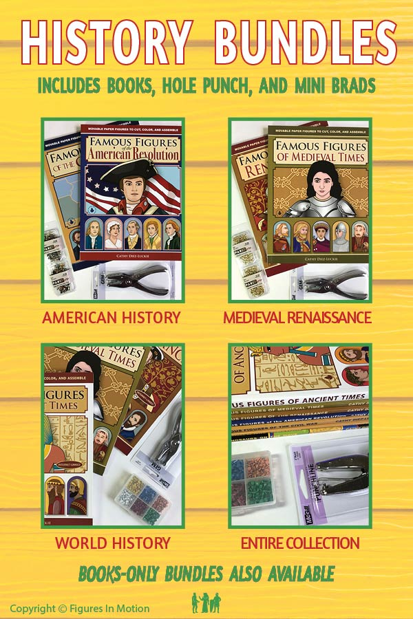 History Bundles at Figures In Motion - Save with a bundle!