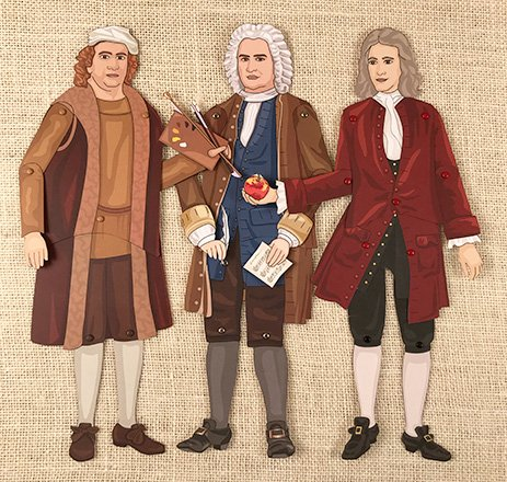 Articulated Puppets from Famous Figures of the Early Modern Era