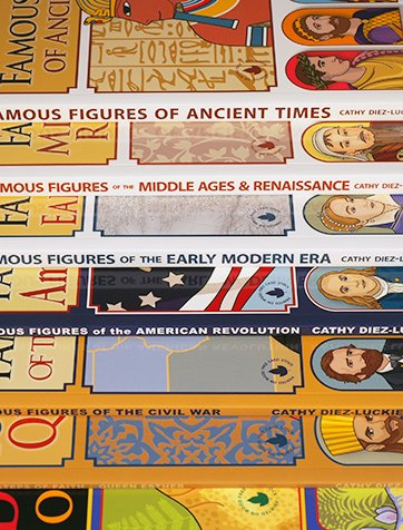 Entire Collection Books-Only Bundle with 7 books of articulated paper dolls